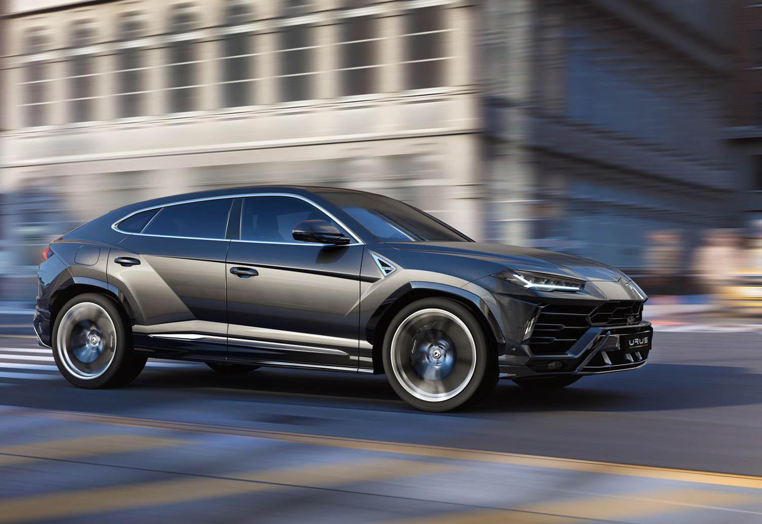 Супермощный кроссовер Lamborghini Urus 2018