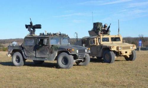Роботизированный вседорожник Humvee для армии США