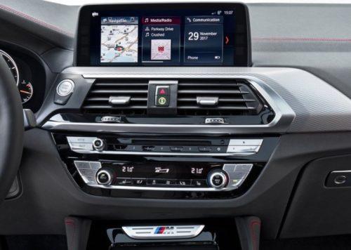 фото панели BMW X4 2018-2019