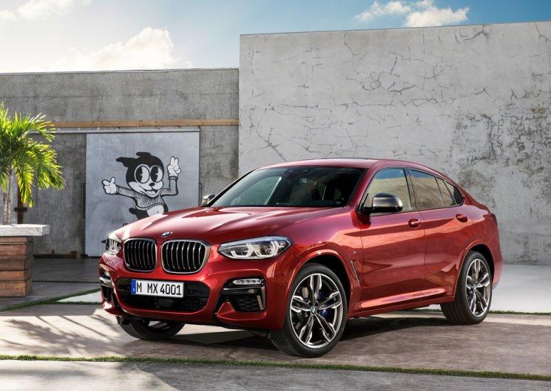 BMW X4 M40d 2019 — обновление версии купе