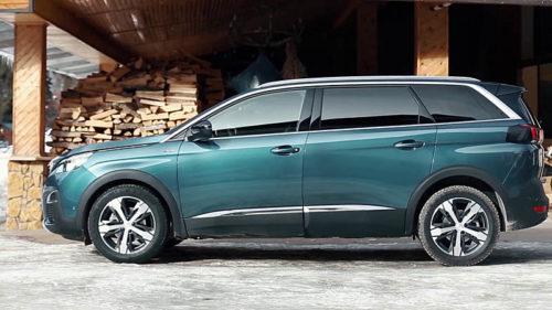 фото новый Peugeot 5008 2018