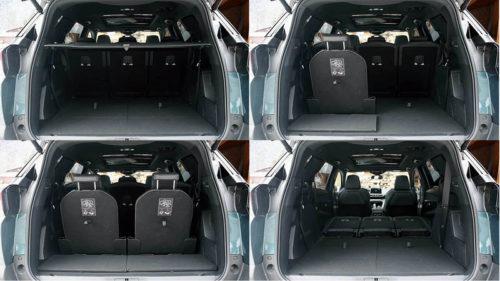 фото багажника Peugeot 5008 2018 года