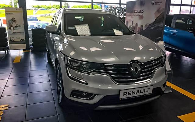 В России подняли цены на Renault Dokker и Koleos