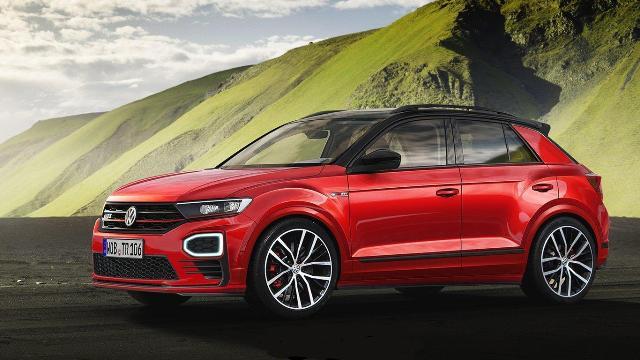 300 сил на VW T-Roc в Нюрбургринге новая R-версия 2020 года