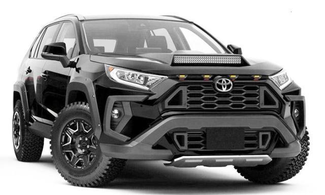 Для нового Toyota RAV4 разработали другой обвес, дизайн значительно изменился