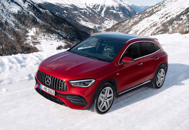 Новое поколение Mercedes-Benz GLA представили широкой публике
