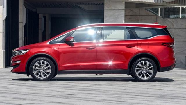 Созданный на базе Volvo минивэн Geely, получил новую генерацию