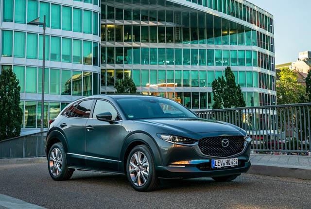 Mazda CX-30 сертифицирован для РФ: локализация и спорт-версия