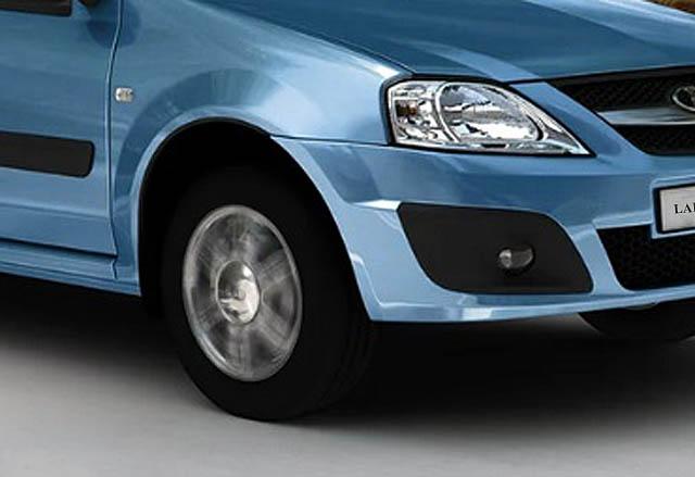 Появились снимки интерьера нового Lada Largus FL